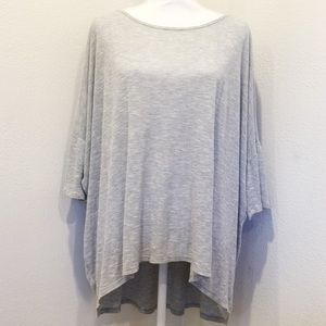 LULAROE Simply Comfortable Gray Tunic Top  Casual